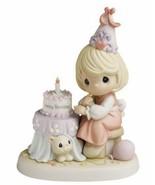 "Precious Moments ""Count Each Birthday With A Joyful Smile"" Figurine 630018 - $45.53"
