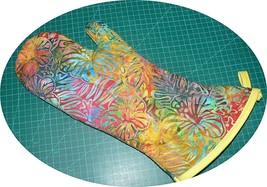 The Best Quilted Oven Mitts & Pot Handles on eBay!! Multi/Yellow - $7.50