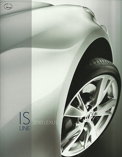 2010 Lexus IS 250 350 F C sales brochure catalog 10 US ISF