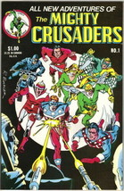 Adventures of The Mighty Crusaders Comic Book #1 Archie 1983 NEAR MINT - $6.89
