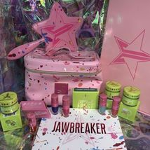 HUGE Jeffree Star Jawbreaker Lot Liquid Lip Train Case Mirror Supreme Frost BNIB image 11
