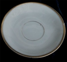 Nice Vintage Hand Painted Nippon Saucer, Gold Trim, Looks Old, Fair Cnd - $6.92