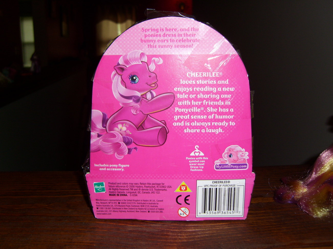 My Little Pony MIB Easter Cheerilee