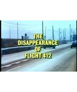 The Disappearance of Flight 412 1974 DVD - $8.00