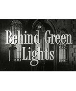 Behind Green Lights 1946 DVD - $8.00