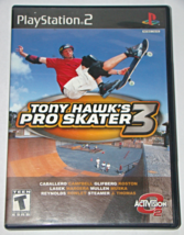 Playstation 2 - Tony Hawk's Pro Skater 3 (Complete With Manual) - $15.00