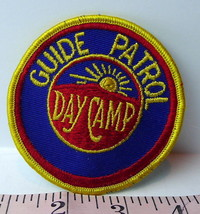 Guide Patrol Day Camp Patch BSA Boy Scouts 1970s Vintage - $8.42