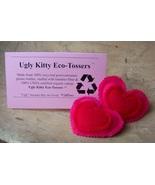 Ugly Kitty Eco-Tossers - Punk Heartbreaker - Organic Catnip  - $8.00