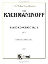 Piano Concerto No. 3 in D Minor, Op. 30 (Kalmus Edition) [Paperback] Rachmaninof image 1
