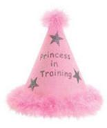 Princess in Training Hat-Pink  - $5.00