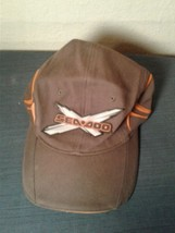 Brown Flex Fit L/XL Sea-Doo Hat Cap (hb8) - $18.69