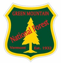 Green Mountain National Forest Sticker R3242 Vermont YOU CHOOSE SIZE - $1.45+