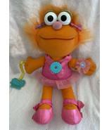 "Vintage Playskool 1995 Plush Dress Me Up Pal Zoe Doll Sesame Street 14"" - $19.99"
