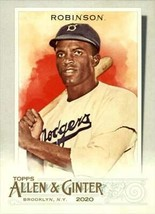 2020 Topps Allen & Ginter Jackie Robinson #42 Brooklyn Dodgers - $0.94