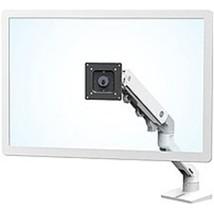 Ergotron 45-475-216 HX Desk Single Monitor Arm Mount - White - $322.07