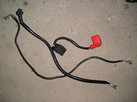 Honda CBR1100XX '97-'98 starter and battery cables  - $18.00