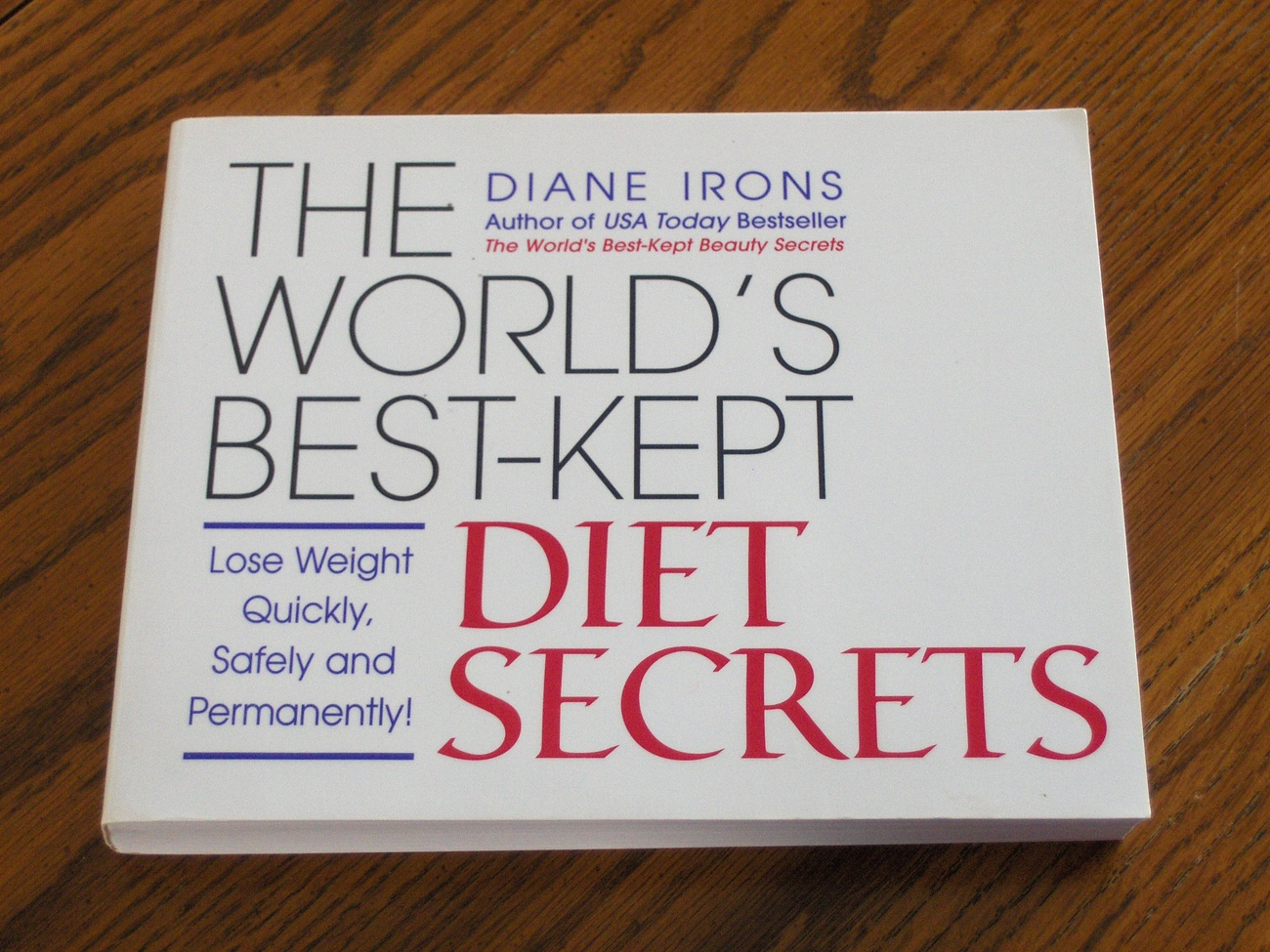 Primary image for The Worlds Best Kept Diet Secrets  Diane Irons