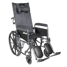 Drive Medical Silver Sport With Leg Rests and Full Arms 16'' - $323.85