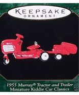 Hallmark 1955 MURRAY TRACTOR AND TRAILER Ornament - 1999 - $8.95