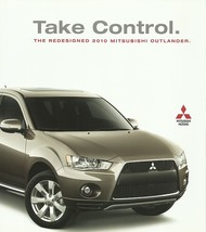 2010 Mitsubishi OUTLANDER sales brochure catalog 10 US XLS SE GT - $8.00