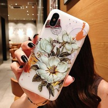 3d Flower Silicone Phone Case For Xiaomi Redmi (3d Relief Flower 1) - $12.99