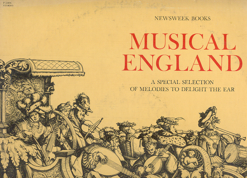 MUSICAL ENGLAND LP from Newsweek Books