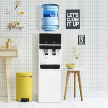 5 Gallon Top Loading Water Cooler Dispenser Cold Hot w Safety Lock Home ... - $149.89