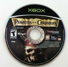 Pirates of the Caribbean (Microsoft Original Xbox, 2003) Disc Only Tested - $3.95