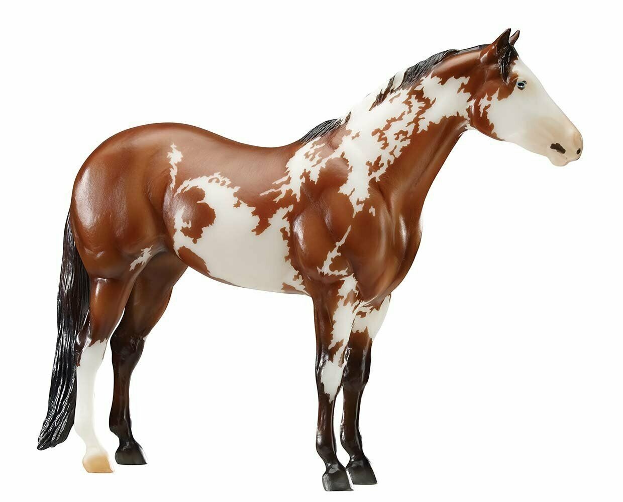 Primary image for Breyer traditional 1810 Truly Unsurpassed 2017 USEF WDAA Horse of Year Paint <>