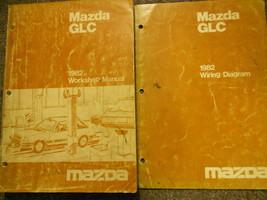 1982 Mazda Glc Service Repair Shop Manual Set Factory Oem Book Rare 82 - $8.33