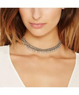 Bohemian Vintage Link Chain Choker Necklace - $16.00