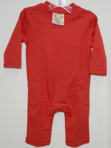 Blanks Boutique Boys Long Sleeved Romper Color Red Size 6 Months