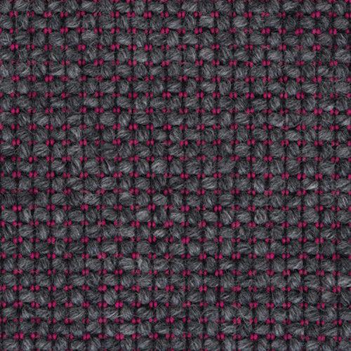 1.25 yds Camira Upholstery Fabric Craggan Chunky Wool Fell Gray Pink ZAN01 AZ