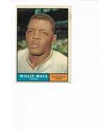1961 Topps #150 Willie Mays, San Francisco Giants - $44.45