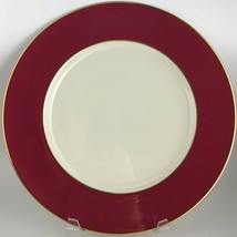 Lenox X305R Maroon Dinner plate  - $35.00