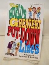 World's Greatest Put Down Lines by Fisco, Butch - $12.99