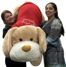 Giant Valentine Stuffed Dog 60 Inch Soft 5 Foot Stuffed Puppy You Are Special - $222.68