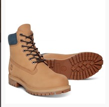 Timberlands Men's 6 Inch Premium Leather Boots Style A1LTS Tan Sands Siz... - $198.63 CAD