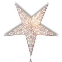 Happy Sales HSSL-FAWHTB Frozen Aurora Paper Star Lantern White, - $23.18
