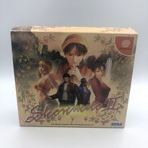 Shenmue II Sega Dreamcast Japan import Limited Edition First Print 6-disc+sleeve - $59.79