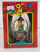Looney Tunes TWEETY BIRD in Cage Matrix Christmas Ornament in Box 1995 - $13.99
