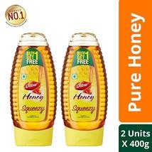 Dabur Honey Squeezy - India's No.1 Honey - 400 g (Buy 1 Get 1 Free) - $28.40
