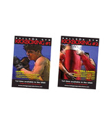 European German Martial Arts Kickboxing 2 DVD Set Klaus Nonnebacker bull... - $39.95