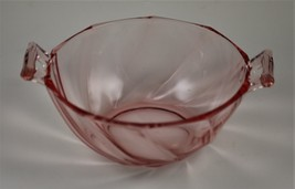 Twist, Pattern No. 1252, Flamingo (Pink), Mayonnaise Bowl, made by A. H.... - $20.00
