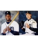 JUSTIN THOMPSON & TONY CLARK AUTOGRAPHED SIGNED TIGERS 8x10 PHOTOS w/COA... - £10.56 GBP