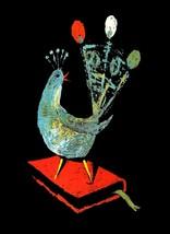 Decorative Poster.Interior wall art design.Peacock Lyre on Book.Art.4071 - $9.90+