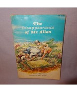 The Disappearance of Mr. Allan 1977 Scholastic Foster Kennedy Story Book - $10.00