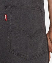 NEW LEVI'S 501 MEN'S SHRINK TO FIT STRAIGHT LEG JEANS BUTTON FLY GRAY 501-1677