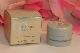 New Shiseido Cle De Peau Beaute Protective Fortifying Creme .07 oz / 2 m... - $8.99