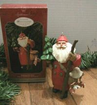 Hallmark Keepsake Orn Folk Art Americana MAKING HIS WAY 1998 Christmas S... - $12.55